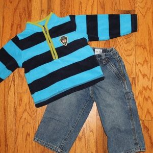 Carters pullover/TCP utility Jeans